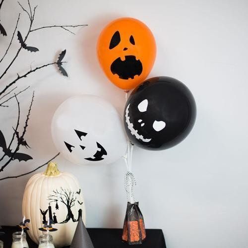 Spooky Faces Halloween Party