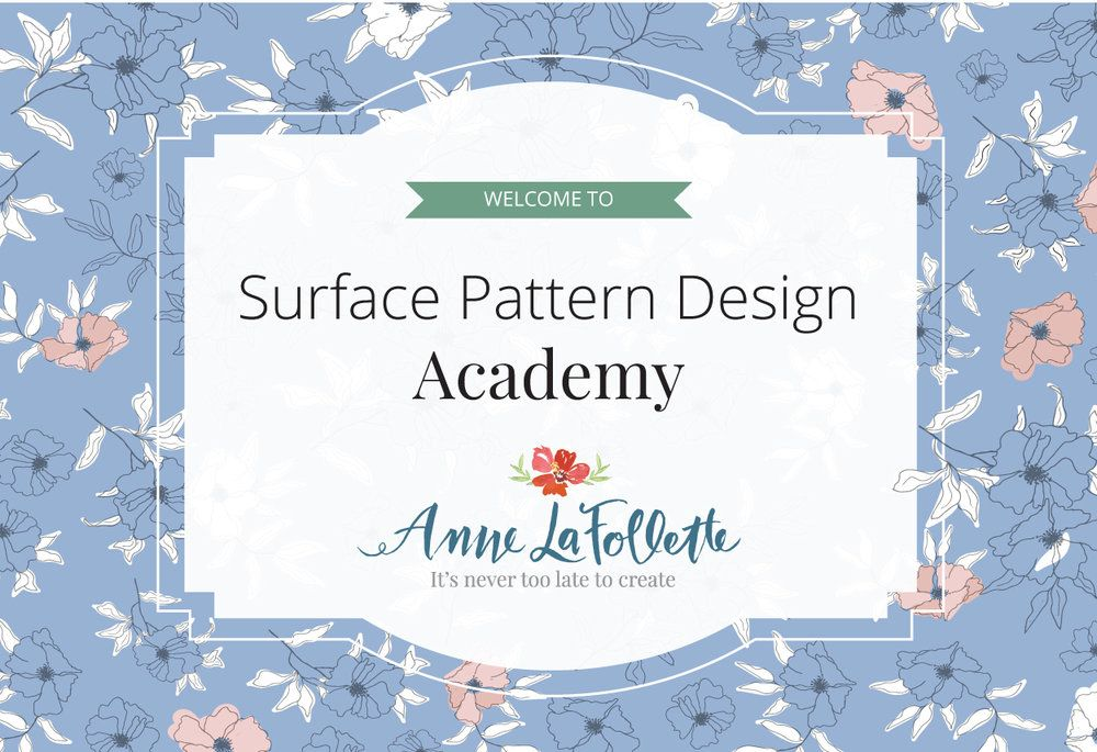 Anne Lafollette Art Surface Pattern Design Instagram Branding