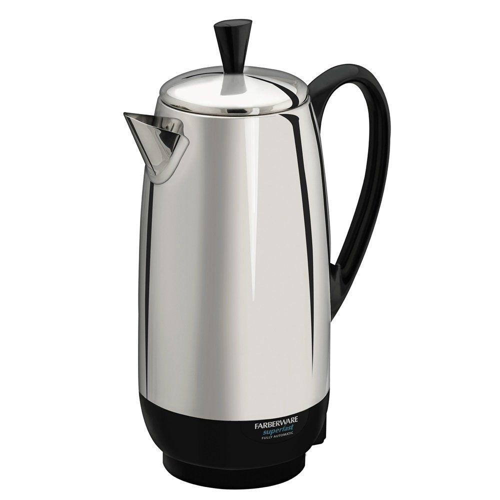Farberware Fcp412 1000 Watt 12 Cup Percolator Stainless Steel This Is An Amazon Affiliate Link You Ca With Images Percolator Coffee Percolator Coffee Maker Percolator