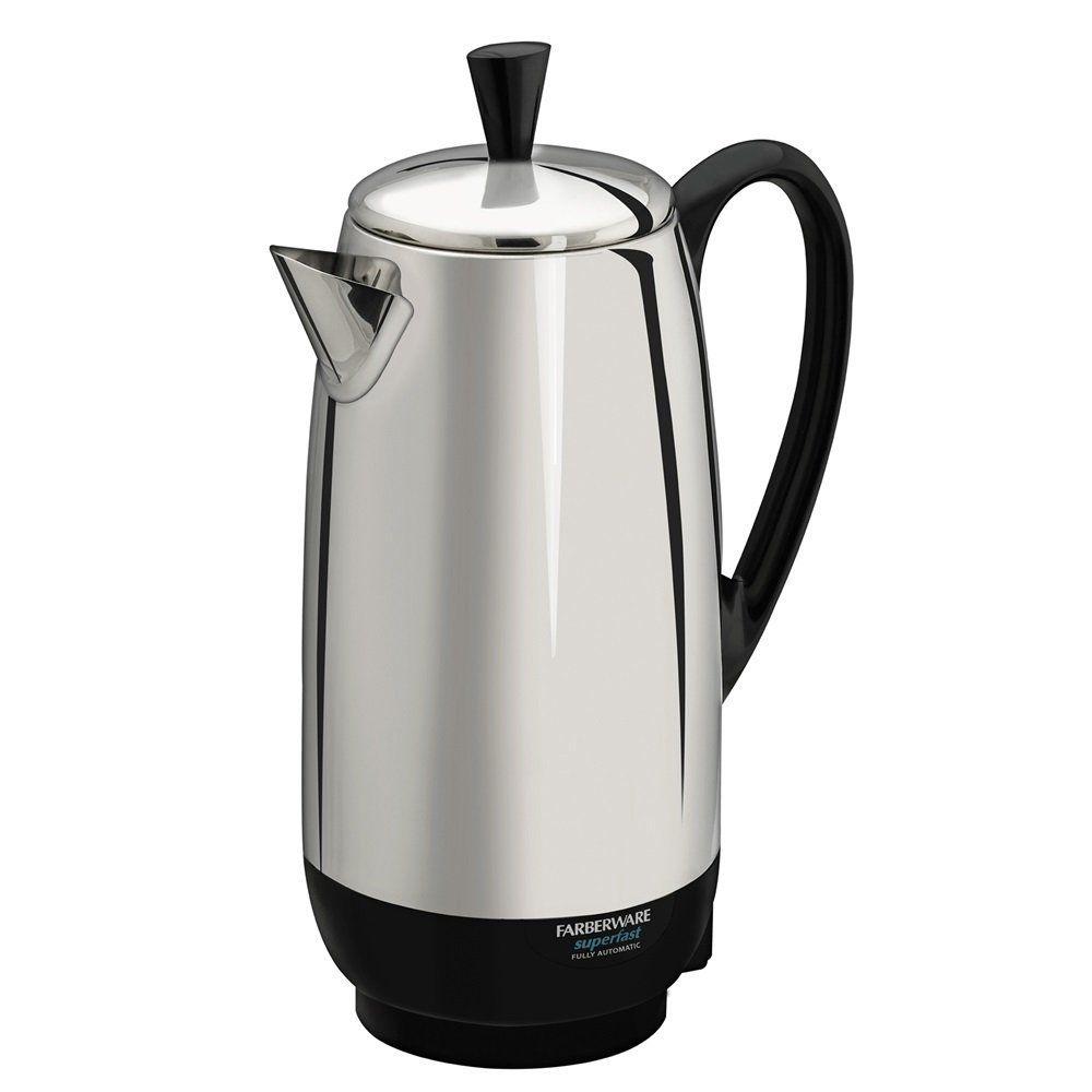 Farberware fcp watt cup percolator stainless steel