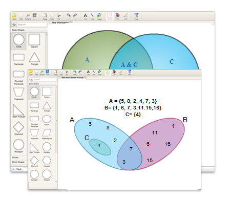 Draw Venn Diagrams Online Using Easy To Use Tools And Venn Diagram
