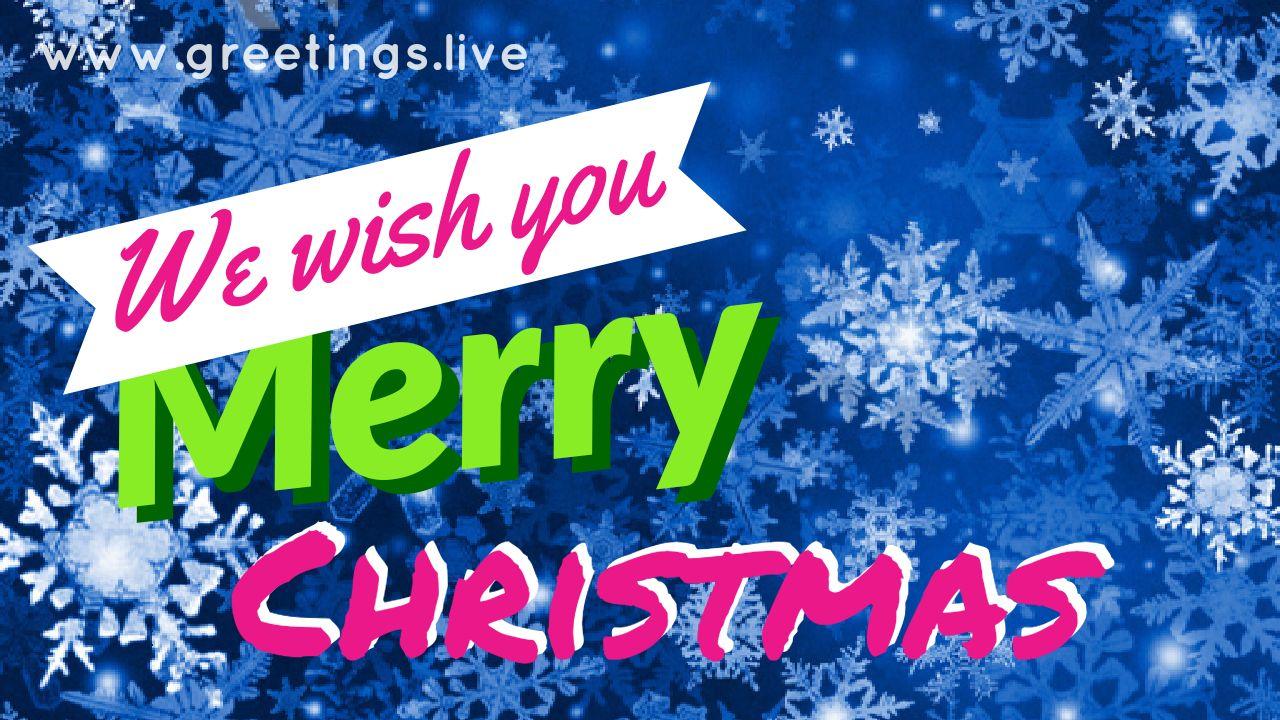 Wewishyoumerrychristmastoallg 1280720 Greetingsve