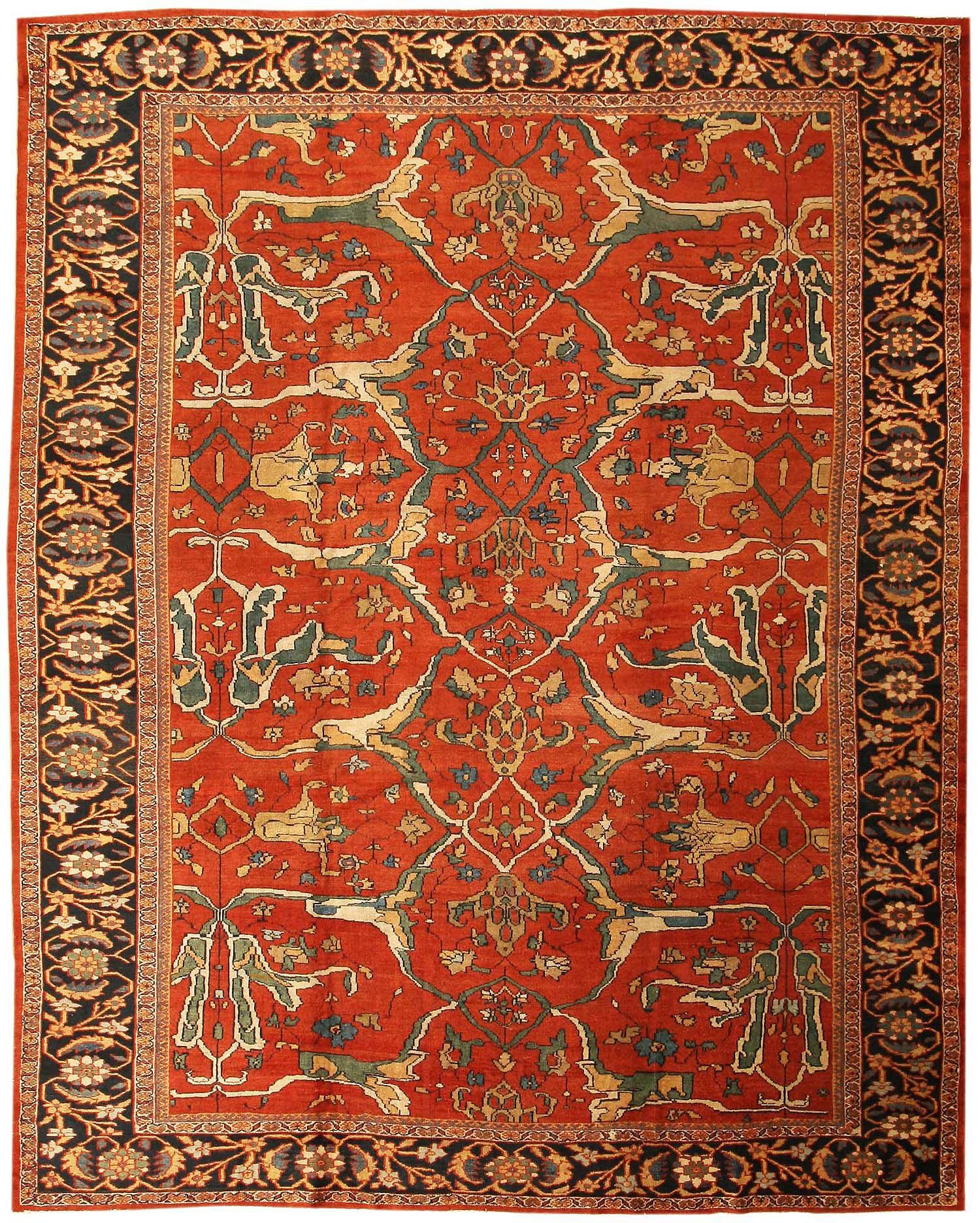 Sultanabad Antique Persian Sultanabad Rug 43442 Nazmiyal Rugs In 2020 Persian Rug Designs Oriental Rug Designs Sultanabad Rug