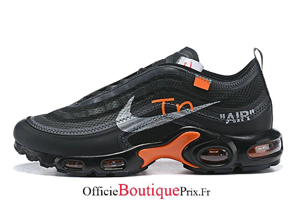 Off White x Nike Air Max Plus Tn Noir Blanc Chaussure Nike
