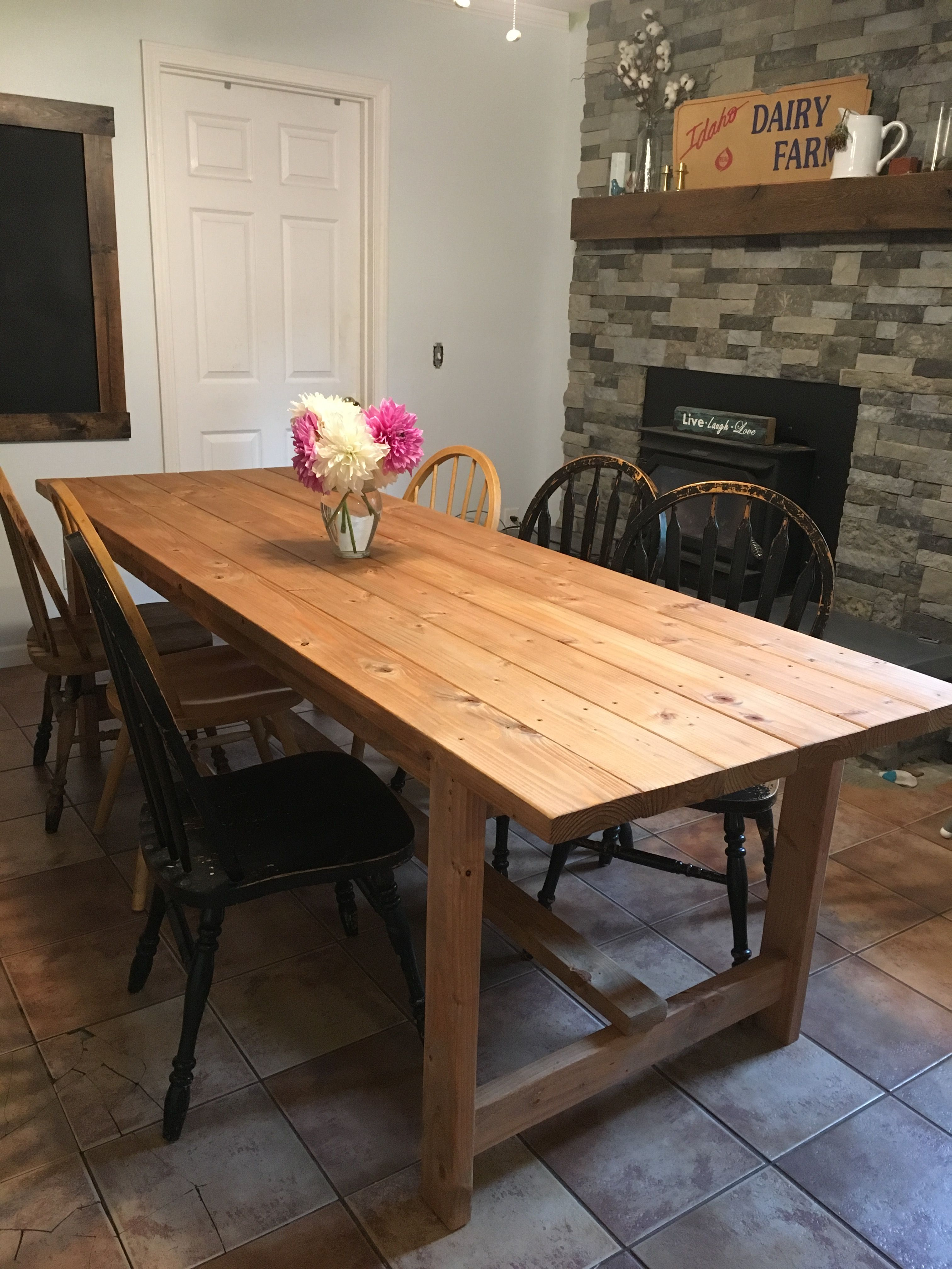 Ana white afternoon farm table diy projects farm