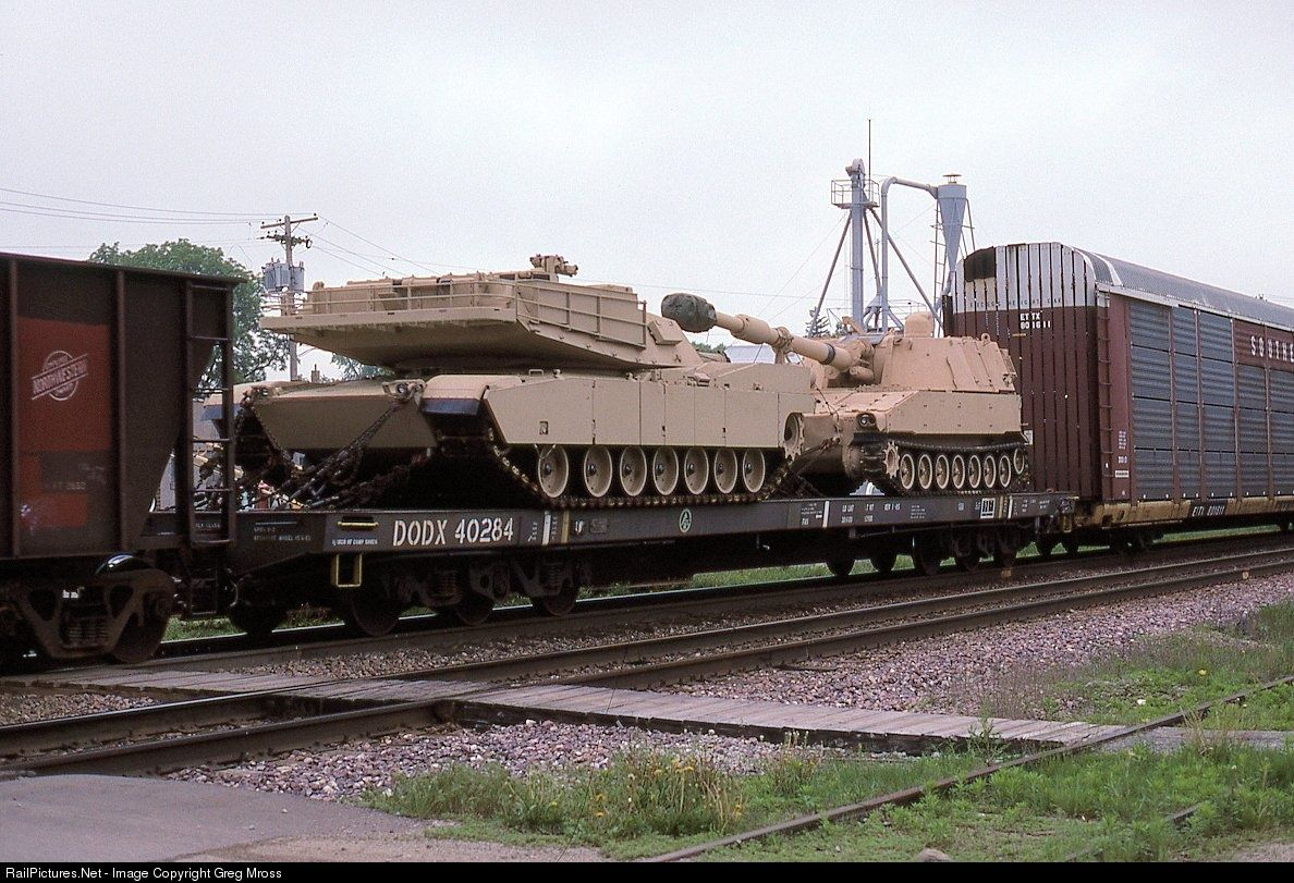 DODX 40284 Department of Defense (DODX) Flatcar Do you