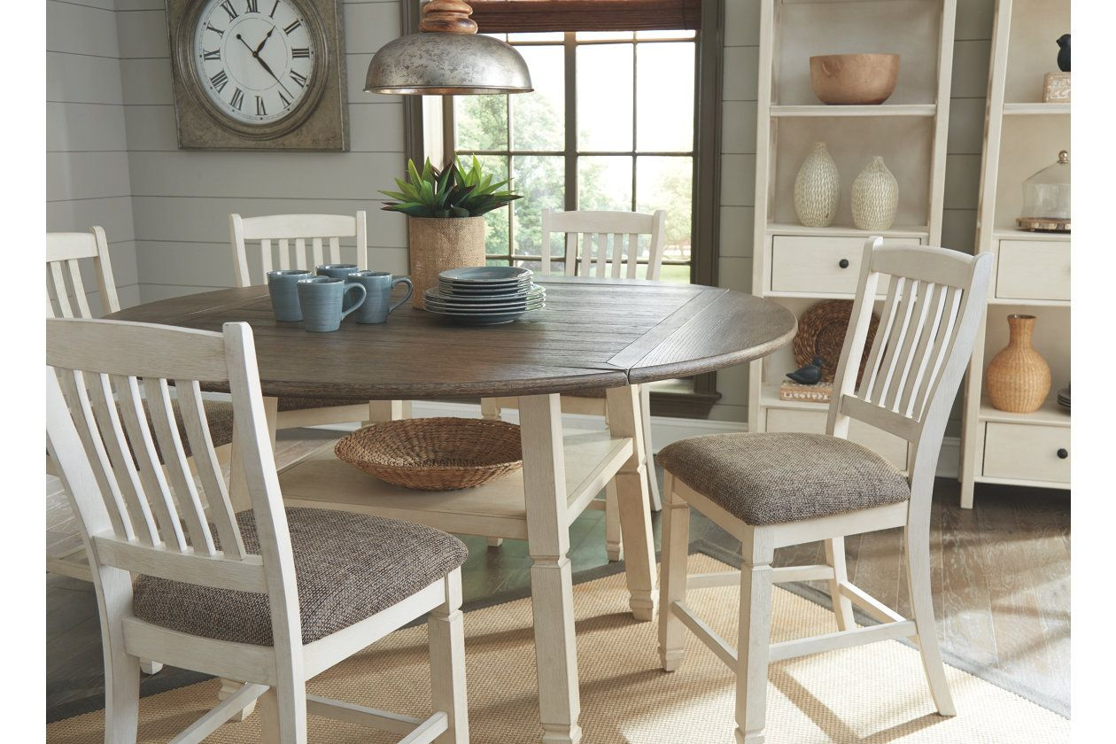 bolanburg 5piece counter height dining room with images