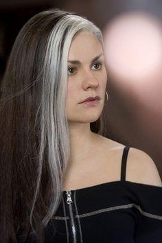Front Streaks With Images Hair Streaks Silver Grey Hair Hair