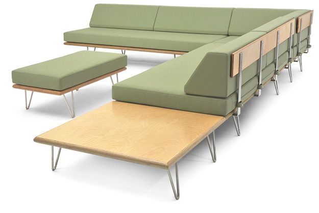 Case Study Daybed Modernica For Tier One T1 Fabrics We Can