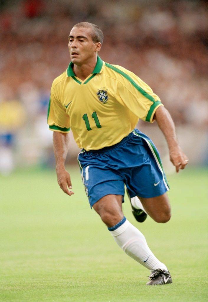 463becea5524d El chapulín Romário de Souza Faria Seleção Brasileira De Futebol