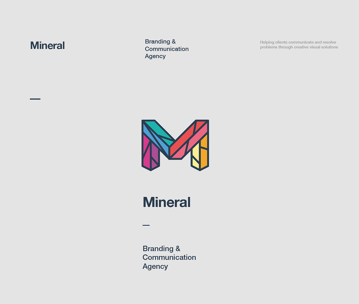 "Check out my @Behance project: ""Mineral Branding & Communication agency"" https://www.behance.net/gallery/43706653/Mineral-Branding-Communication-agency"