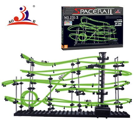 Rollercoaster 1-9 boy puzzle intelligence assembling toys for children over the age of boys 5-6-7-8-10-12