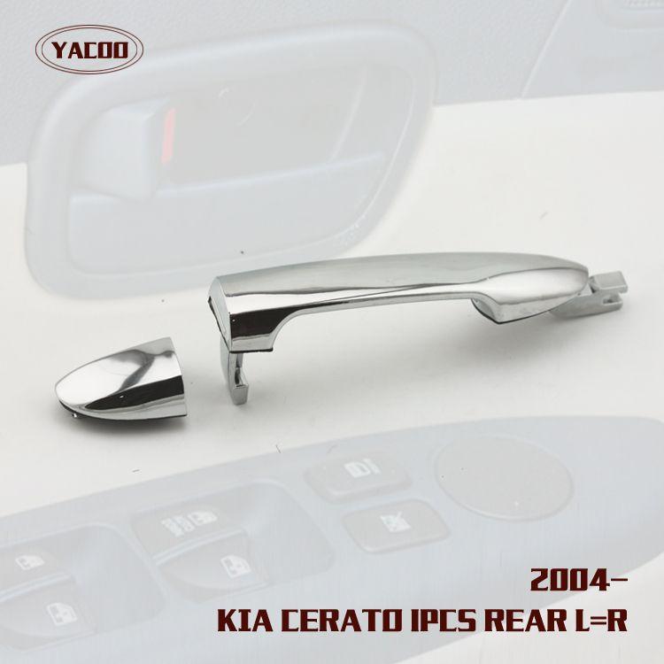1PCS REAR L=R EXTERIOR DOOR HANDLE FOR KIA CERATO CHORME | Auto ...