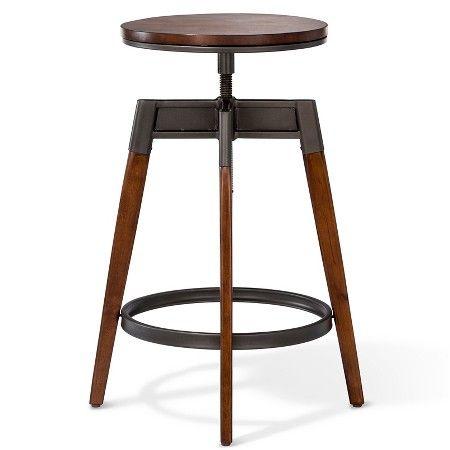Modern Adjustable Barstool Brown Threshold Target Adjustable Bar Stools Bar Stool Furniture Bar Stools
