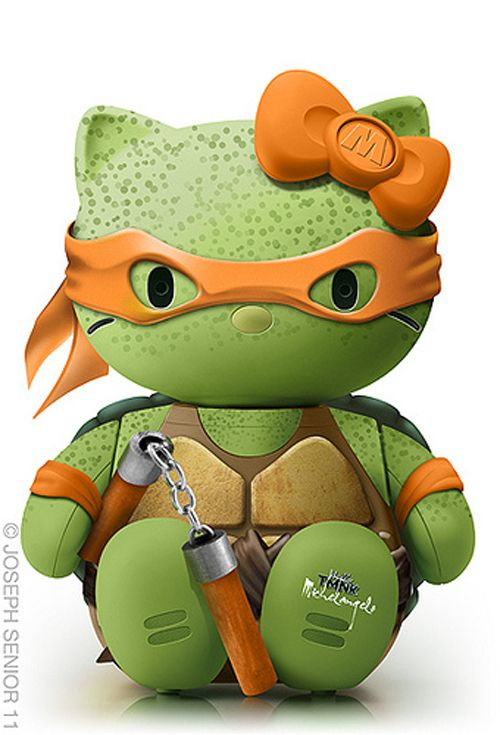 TMNT | 18 Pop Culture Hello Kitties That Need To Exist