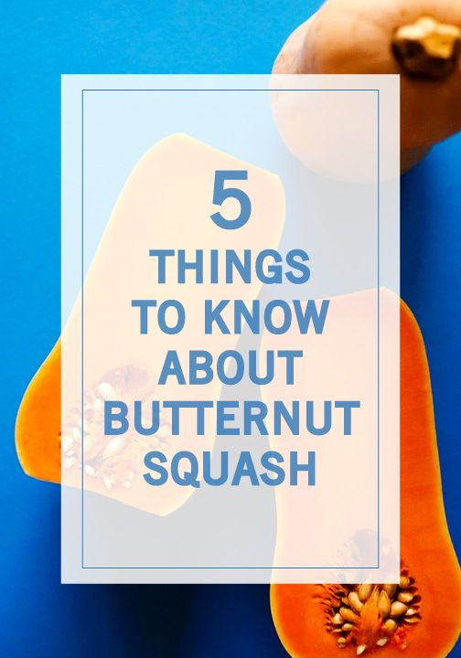 They're so many reasons to love butternut squash—but our favorite is how versatile it is! Whether you're looking to make fries, a casserole, or a delicious winter side dish, make sure to check out these 5 Things to Know About Butternut Squash.