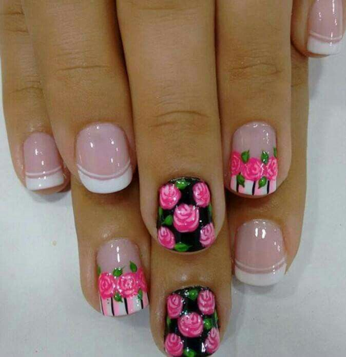 Pin by Leidy De Bustos on uñas decoradas | Pinterest | Manicure