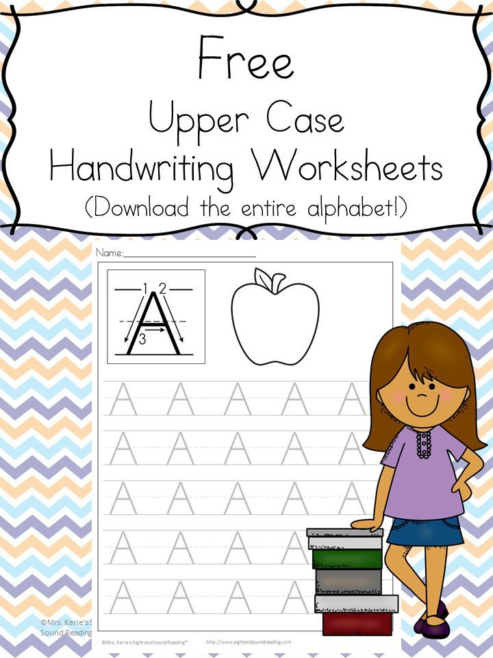 26 Free Printable Handwriting Worksheets for Kids-Easy Download ...
