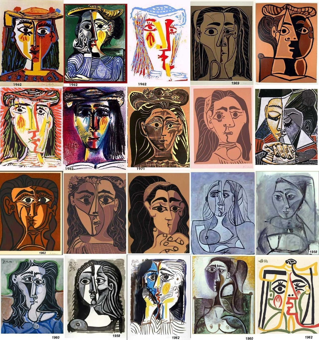 Thecricketchirps Picasso Portraits