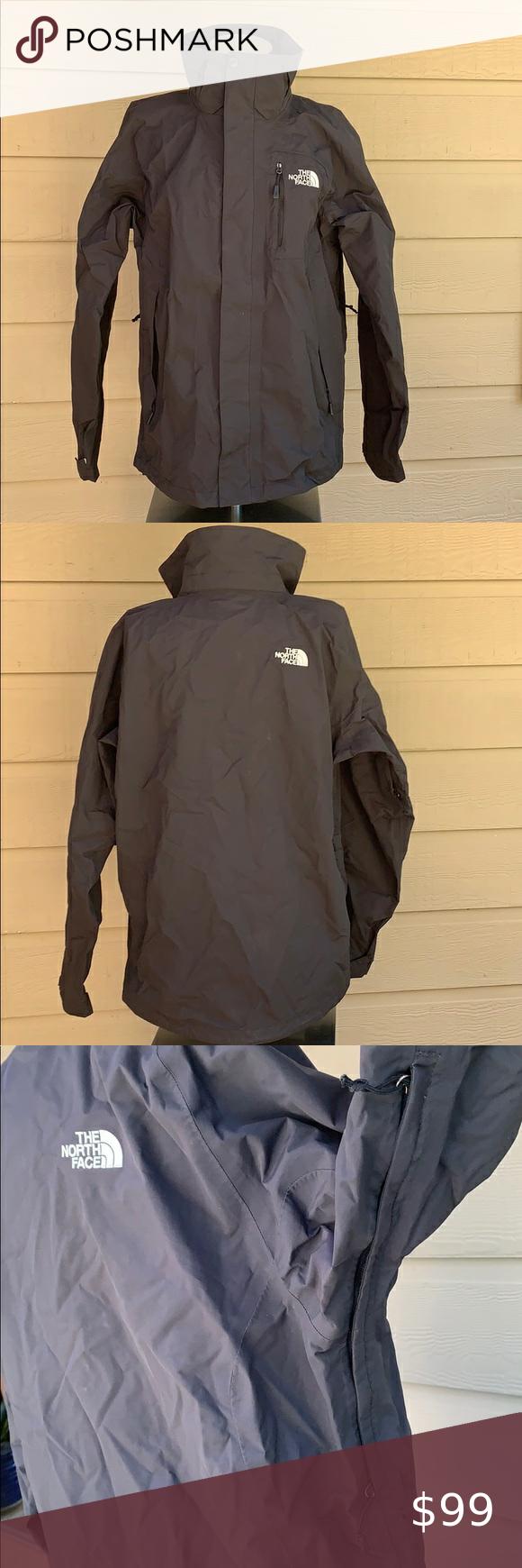 The North Face Black Ski Jacket Men S Small Black Ski Jacket Black North Face Ski Jacket [ 1740 x 580 Pixel ]