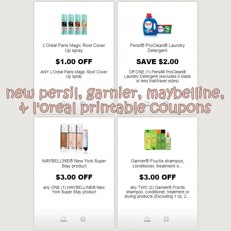 graphic regarding Printable Maybelline Coupons identified as Pin through Erica Hart upon i ♥ discount coupons Printable discount codes
