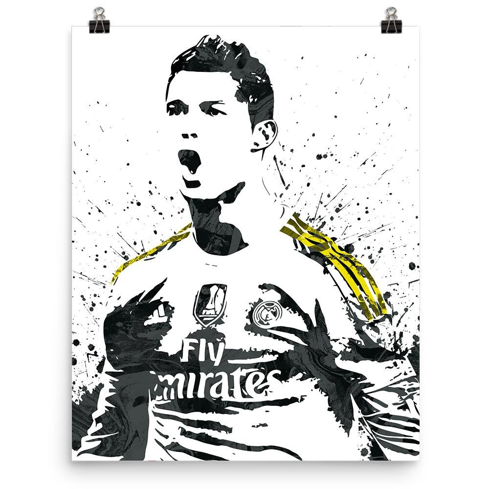 Cristiano Ronaldo Real Madrid Poster Ronaldo real madrid