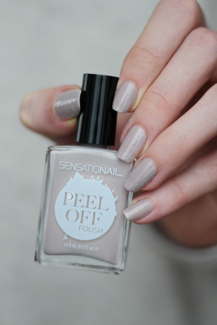 SensatioNail mauve over