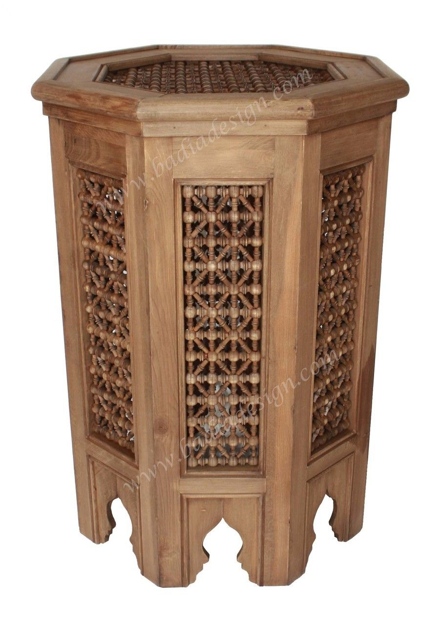 Exceptional Badia Design Inc Store   Moucharabieh Wooden Side Table   CW ST009, $750.00  (http://www.badiadesign.com/moroccan  Moucharabieh Wooden Side Table Cw St009/)