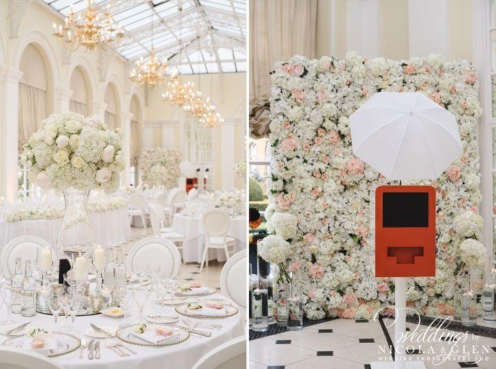 Black Tie Blenheim Palace Wedding Photo
