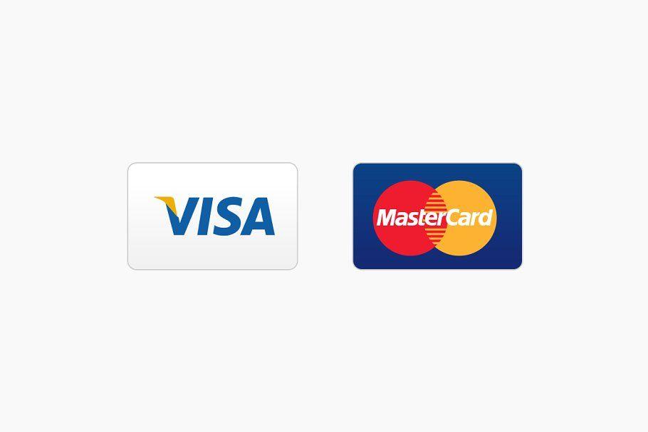 11 Credit Card Icons  Credit card icon, Visa credit card, Credit