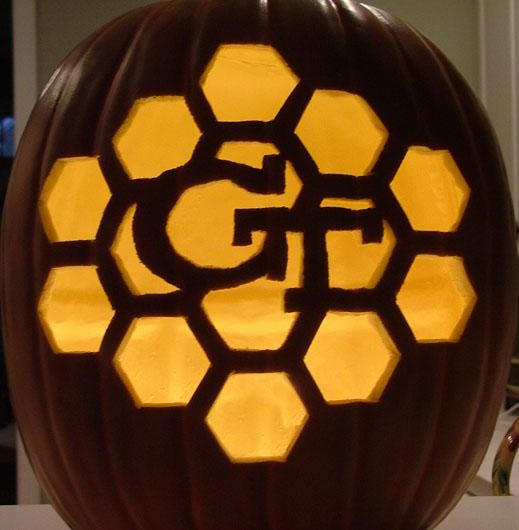 Go for the honeycomb effect georgiatech halloween georgia tech go for the honeycomb effect find this pin and more on georgia tech do it yourself solutioingenieria Gallery