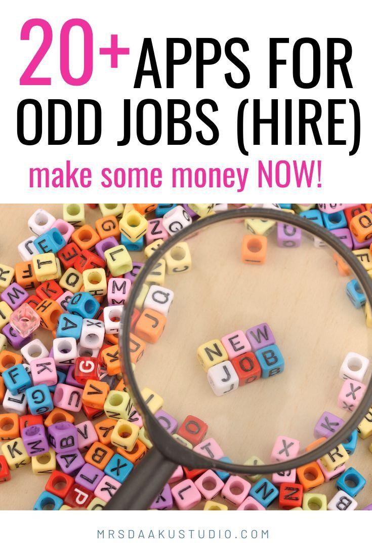 12 Apps For Odd Jobs Near Me Earn 200 A Day Always Hiring Odd Jobs Job Jobs Hiring