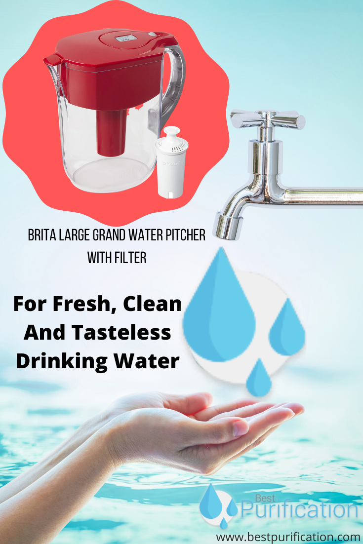For Fresh Clean And Tasteless Drinking Water In 2020 Water Filter Pitcher Best Water Filter Drinking Water