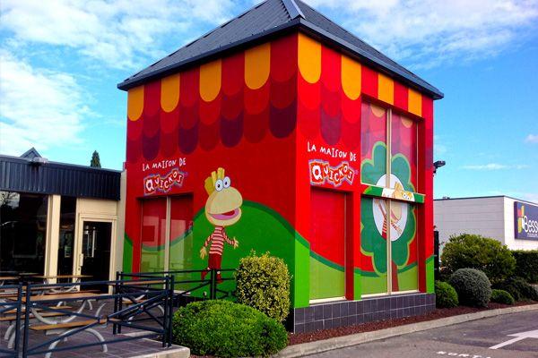 Habillage complet de façade, avec mise en peinture des murs et - peinture de facade maison