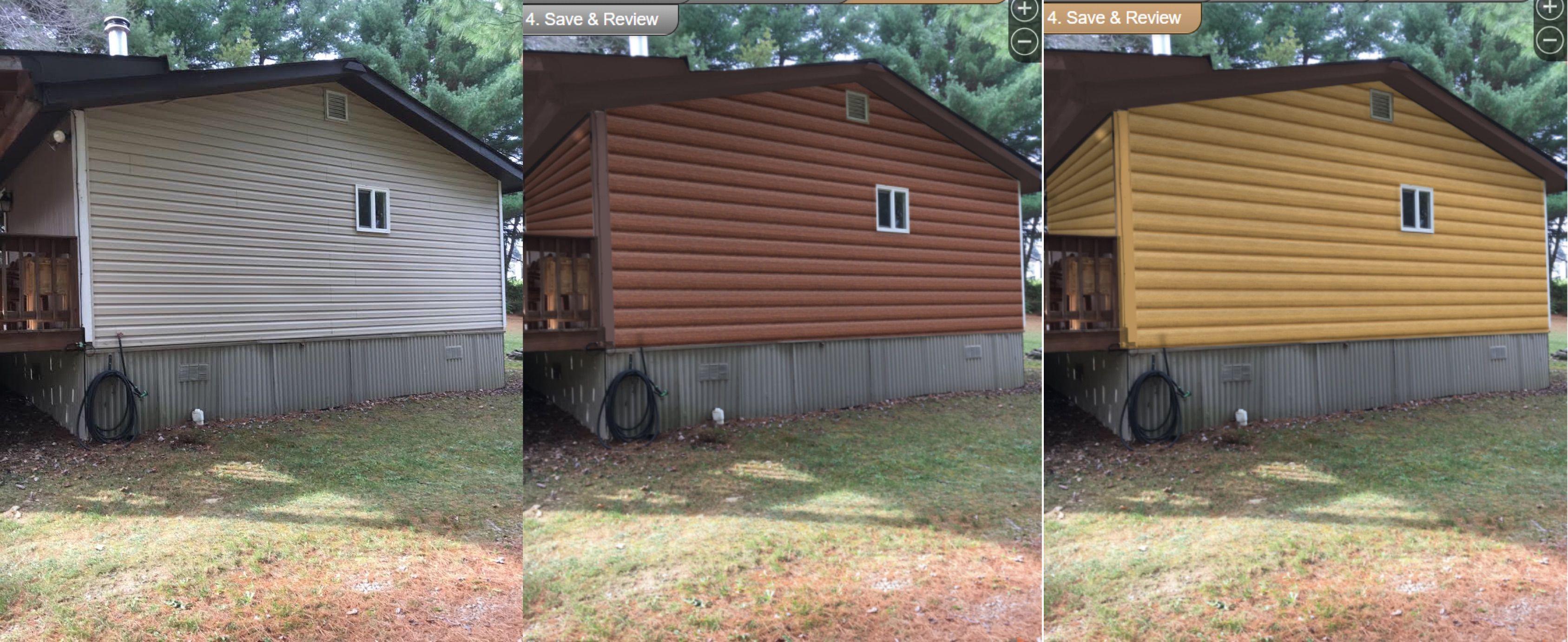 Photo Gallery Modulog Industries Inc Log Homes Exterior Log Cabin Siding Brick Siding