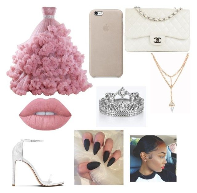 """""""prom night"""" by miahwithstyles on Polyvore featuring Chanel and Lime Crime"""