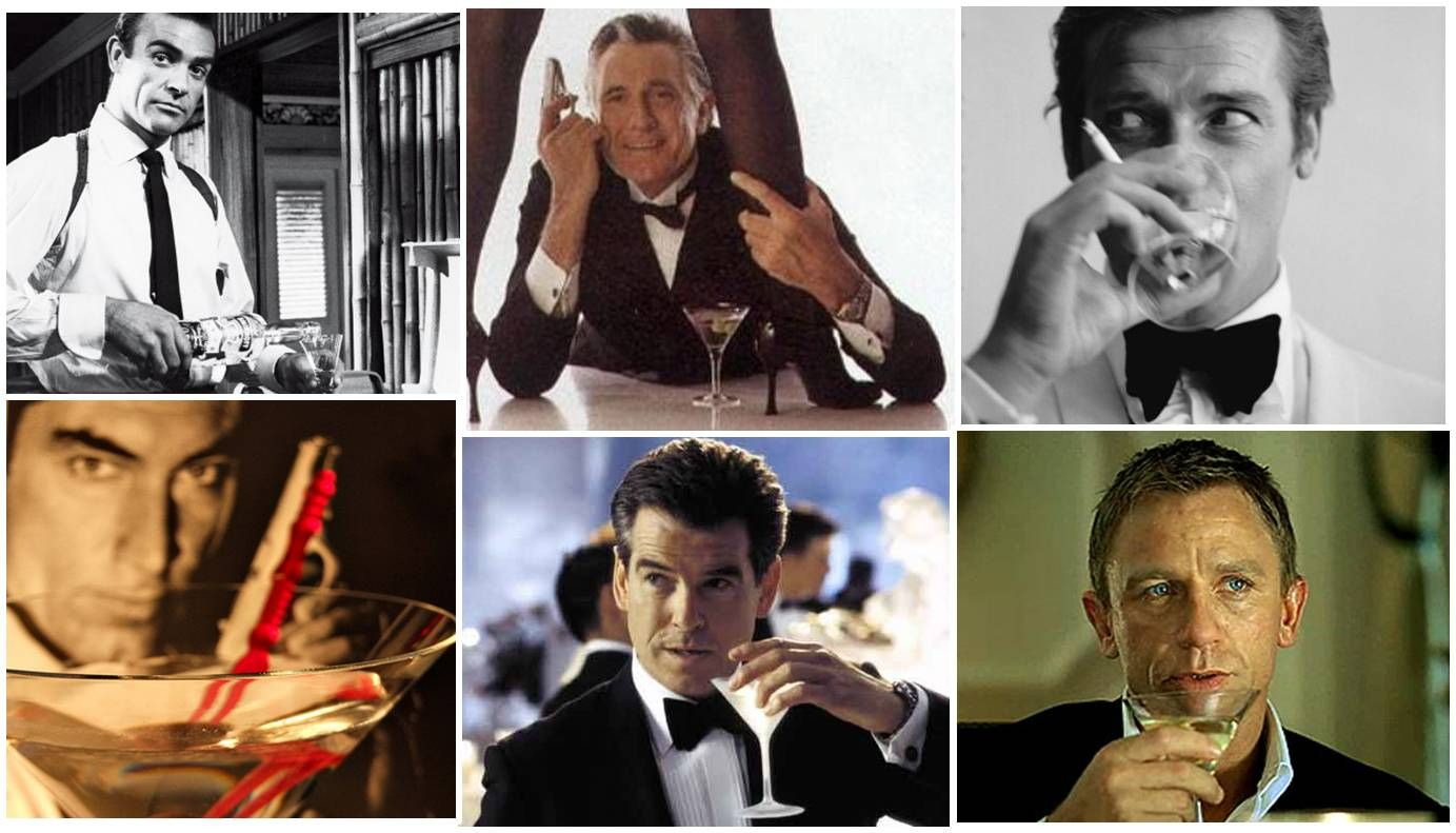 bond drinking martini - Google Search