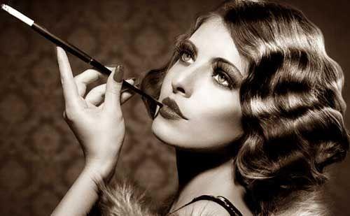 De moda peinados años 20 mujer Imagen de cortes de pelo estilo - Pin by Blog de maquillaje on Maquillaje | Vintage makeup ...