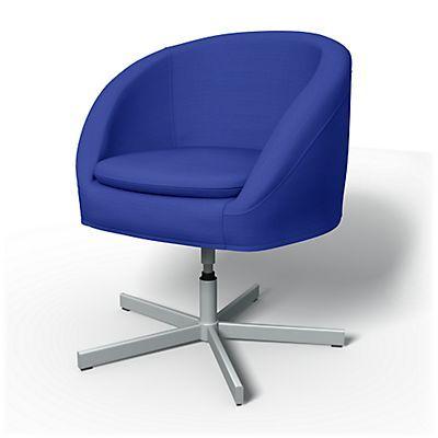 Skruvsta Swivel Chair Cover   Chair Covers | Bemz
