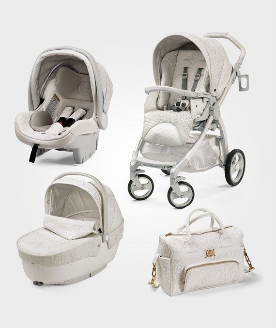 10d1e5ab2926 Young Versace Young Versace Stroller White   oh baby   Baby ...