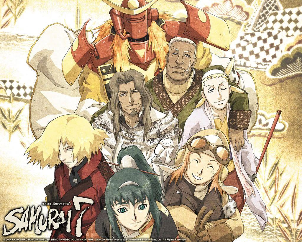 Samurai 7 Animania Pinterest Samurai, Anime and Manga