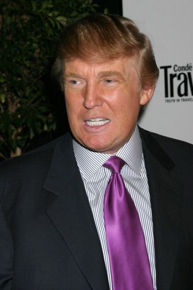 Donald Trump during Conde Nast Traveler's 17th Annual Readers Choice Awards at Time Warner Center in New York New York United States