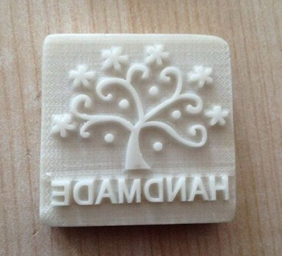 lucky tree mini soap mold soap stamp Diy soap by Diymoldshop, $3.50