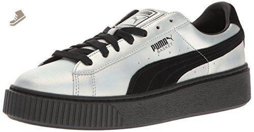 2f0f1198e192 PUMA Women s Basket Platform Explosivewns Fashion Sneaker
