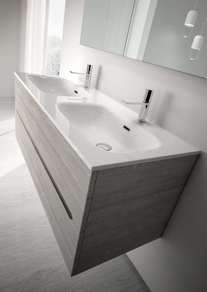 Mobili bagno 120 cm finest mobile bagno bianco lucido con for Prezzi lavabo bagno