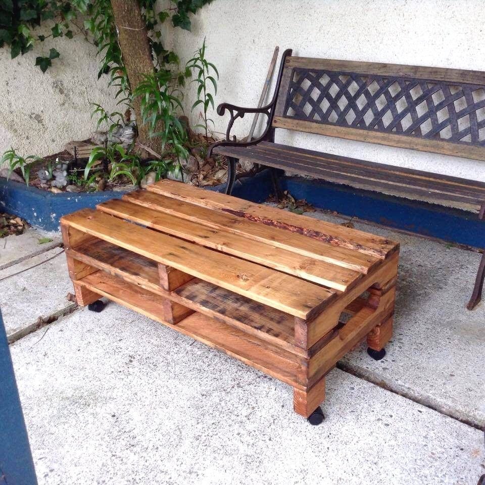 10 Stunning Crate Style Diy Table Plans To Consider To Complement Your Decor Simple Pa Diy Pallet Furniture Outdoor Pallet Furniture Outdoor Diy Table Design