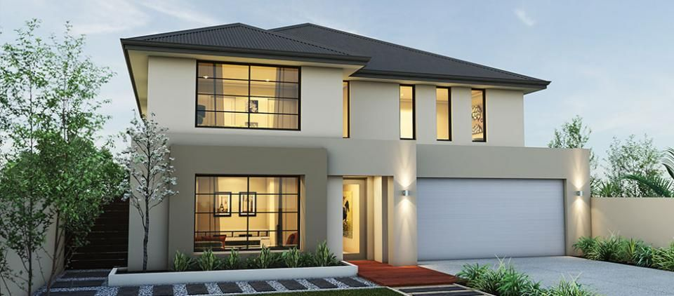 Front Elevation Australia : Merganser storey perth home design project homes