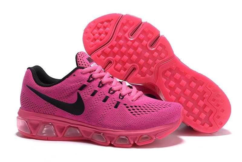 air max rosa svart
