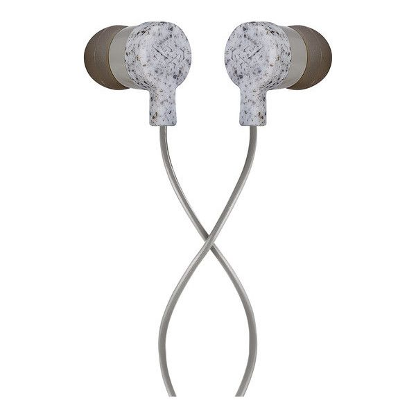 Marley Mystic Earbuds, Grey, EM-JE070-GY ($10) ❤ liked on Polyvore featuring accessories, tech accessories and earphones earbuds