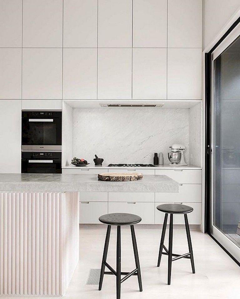 57 Luxury Scandinavian Kitchen Decor Ideas White Modern Kitchen